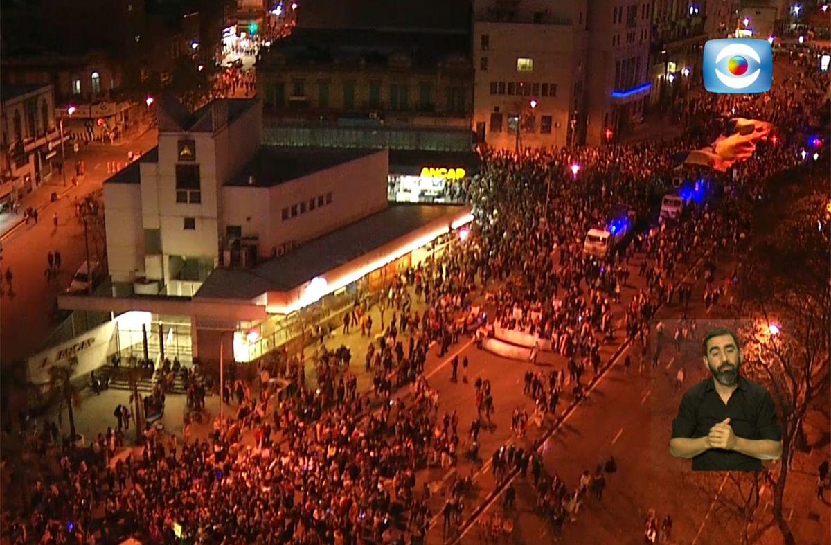 Se realiza una nueva Marcha de la Diversidad por avenida del Libertador