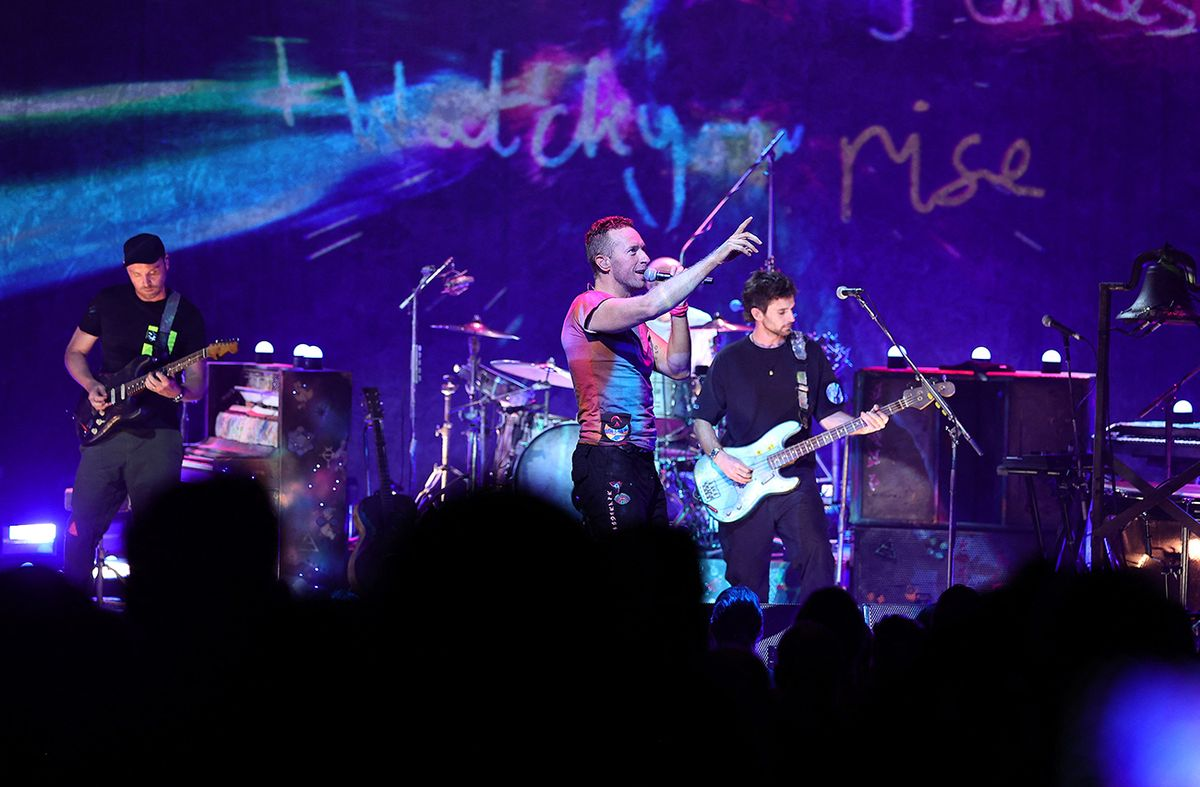 Coldplay vuelve a los recitales en 2022 con una gira ecorresponsable