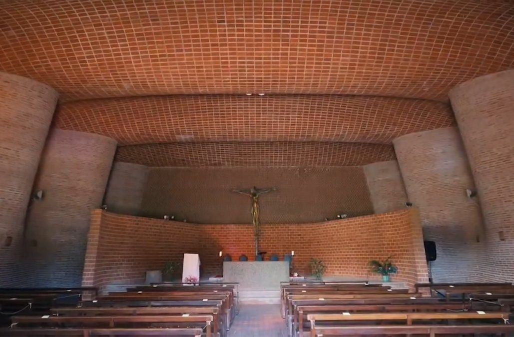 Así fue la celebración en la Iglesia Cristo Obrero, Patrimonio Mundial de la Humanidad