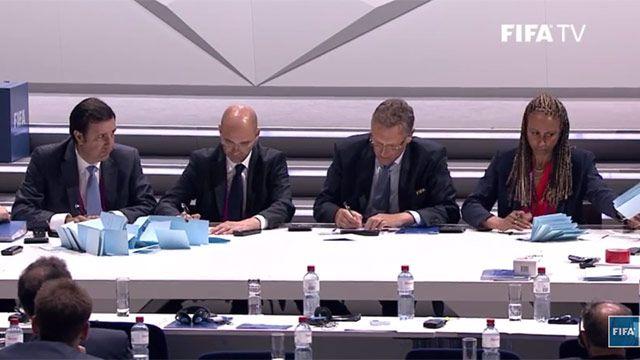 Elecciones en FIFA: hacen segunda vuelta para definir