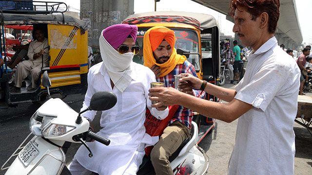 Así se vive en India la extrema ola de calor que ya dejó 1.700 muertos