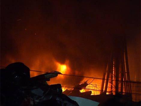 Incendio en Punta Ballena arrasó con viviendas y desató temor