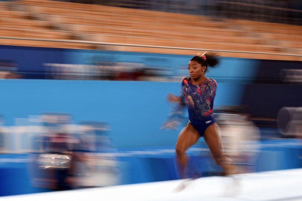 Simone Biles logra el pase a todas las finales de la gimnasia de Tokio-2020